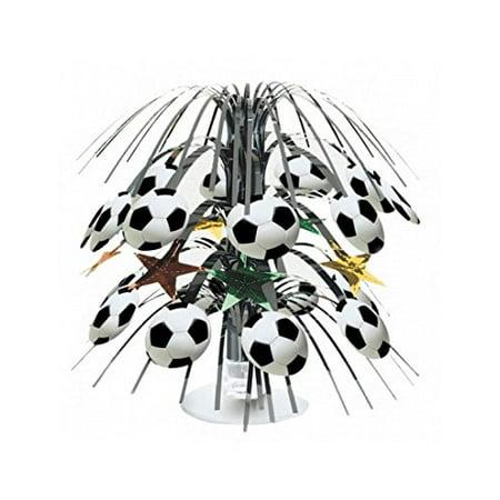 Soccer Mini Centerpiece - Soccer Centerpieces Ideas