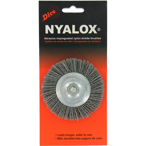 """DiCo. 7200015 3"""" Extra Coarse Nyalox Wire Brush by Dico"""