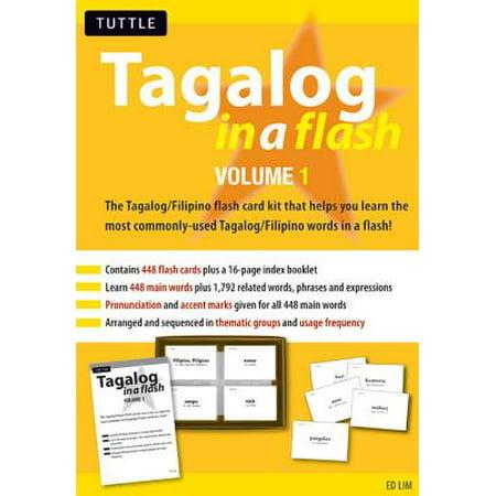 Tagalog in a Flash Kit Ebook Volume 1 - eBook