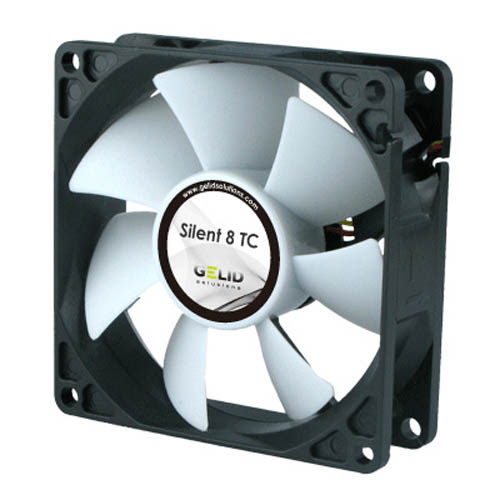 GELID Solutions FN-TX08-20 PC Computer Case Fan w/ Superior Temperature Control