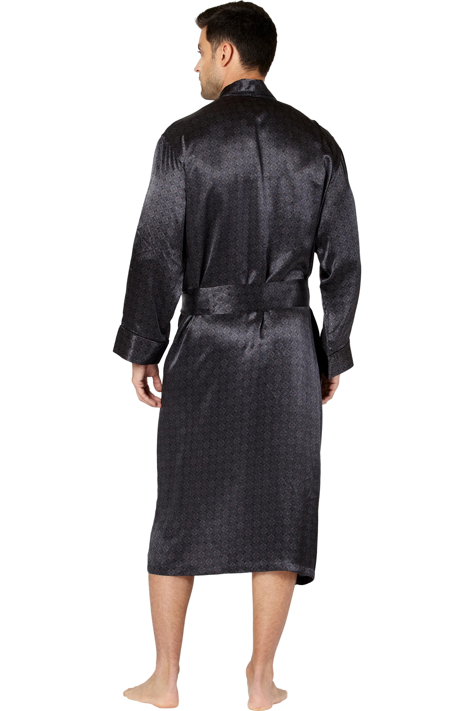Mens Belgravia Silk Robe Men Robes