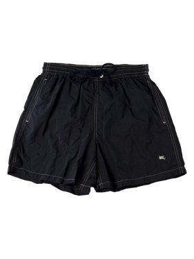 PAL ZILERI Men's Swim Trunks W/Netting Black