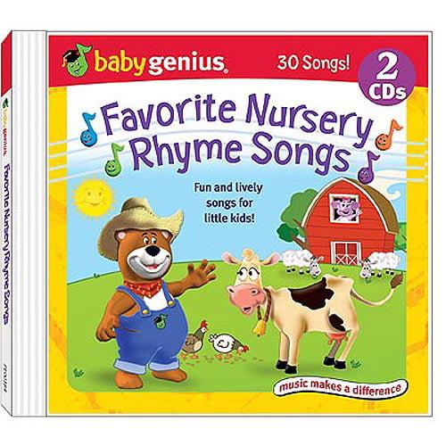 Favorite Nursery Rhyme Songs (2CD)