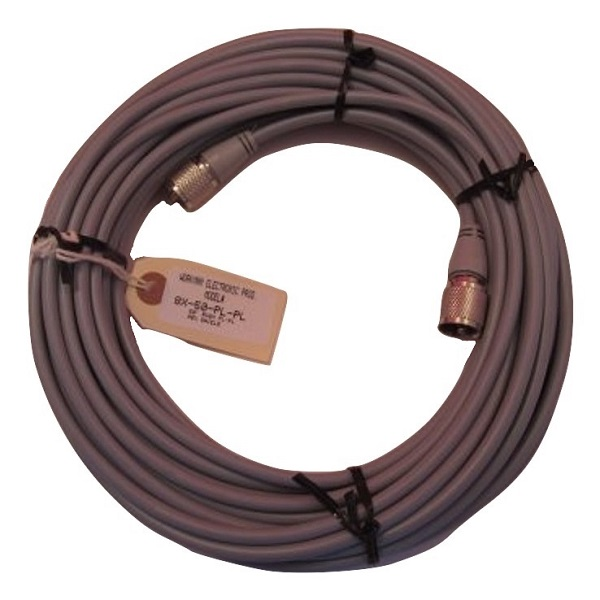 WORKMAN 8X-50-PL-PL 50` FOOT CB RADIO / HAM ANTENNA COAX CABLE MOLDED ENDS