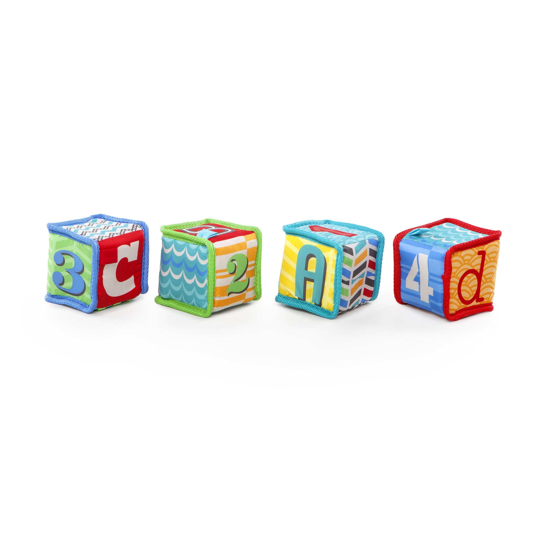 Bright Starts Grab & Stack Blocks by Kids II