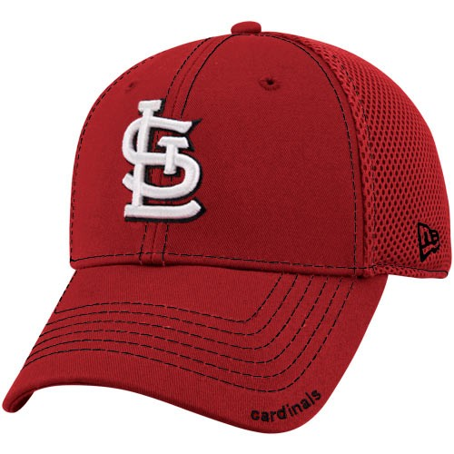 New Era St. Louis Cardinals Red Neo 39THIRTY Stretch Fit Hat