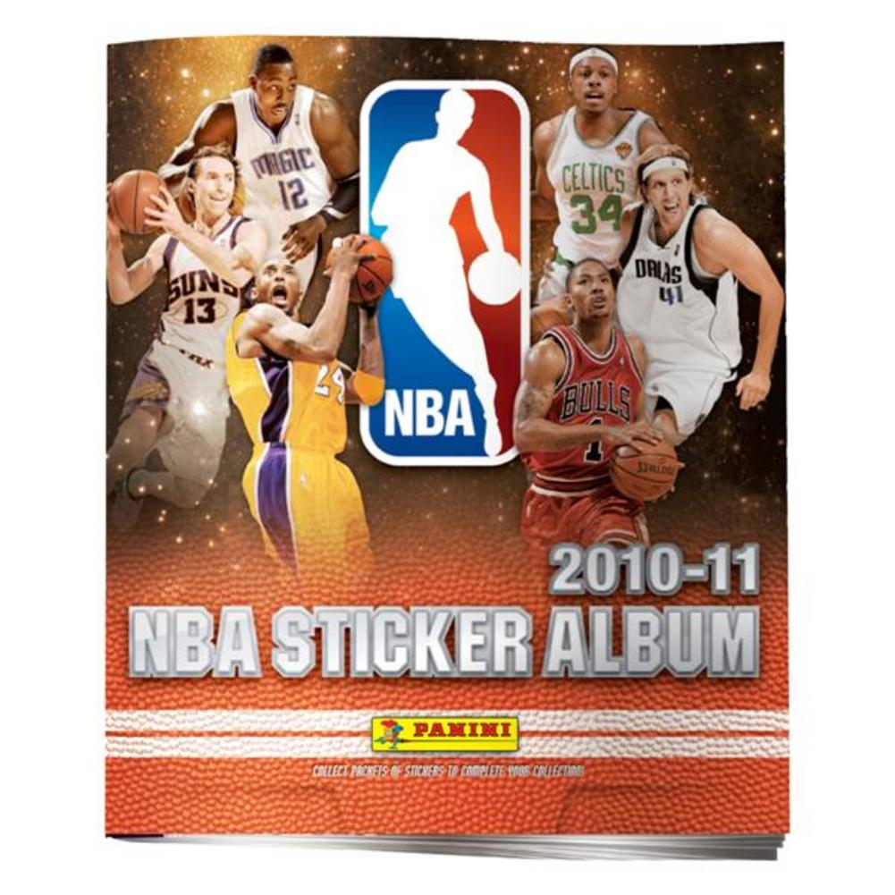 2010 NBA Stickers Individual Album