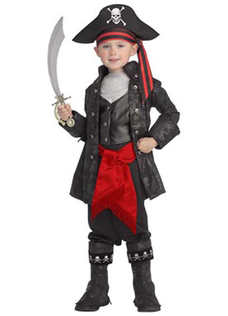 Child Deluxe Pirate Captain Costume Rubies 882896 by Rubies
