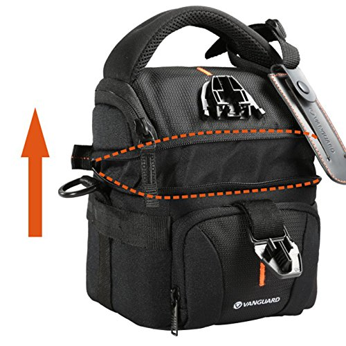 Vanguard Up-Rise II 18 Shoulder Bag for Camera and Accessories (Black) - image 12 de 13