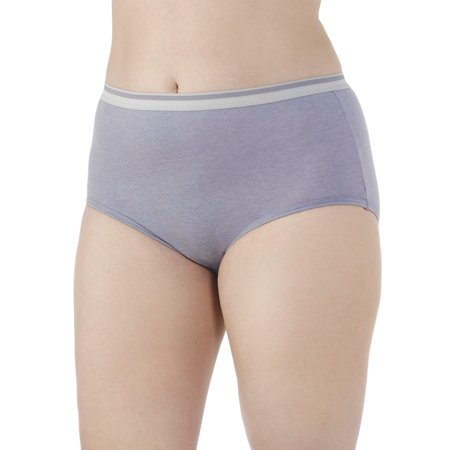 Fit for Me by Fruit of the Loom Women's Plus Assorted Heather Brief Panties - 5 - Ideas For Fall Parties