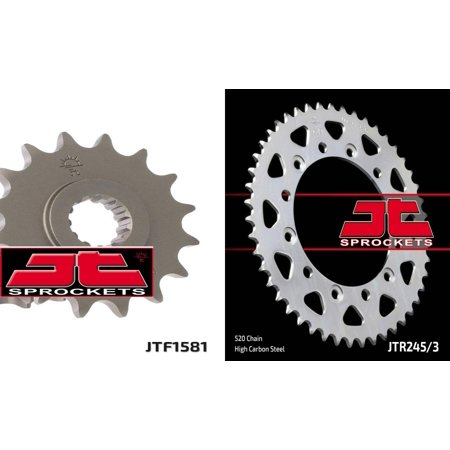 - Front & Rear Sproket Kit for YAMAHA YZF750 R-520 Chain Conversion 93-97 JT Sprockets