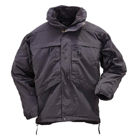 Image of 5.11 Tactical 3-in-1 Parka, 100% NYLON OUTER 100% POLY INNER, BLACK 511 48001-019 XL