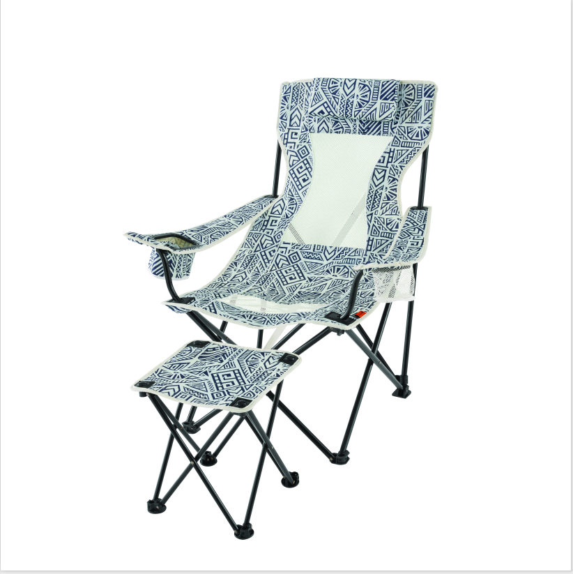 Ordinaire OZARK TRAIL LOUNGE CHAIR WITH DETACHED FOOTREST