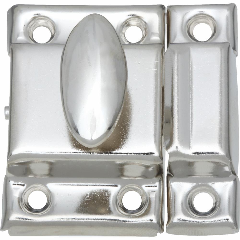 National Mfg. Nickel Cupboard Turn N149641