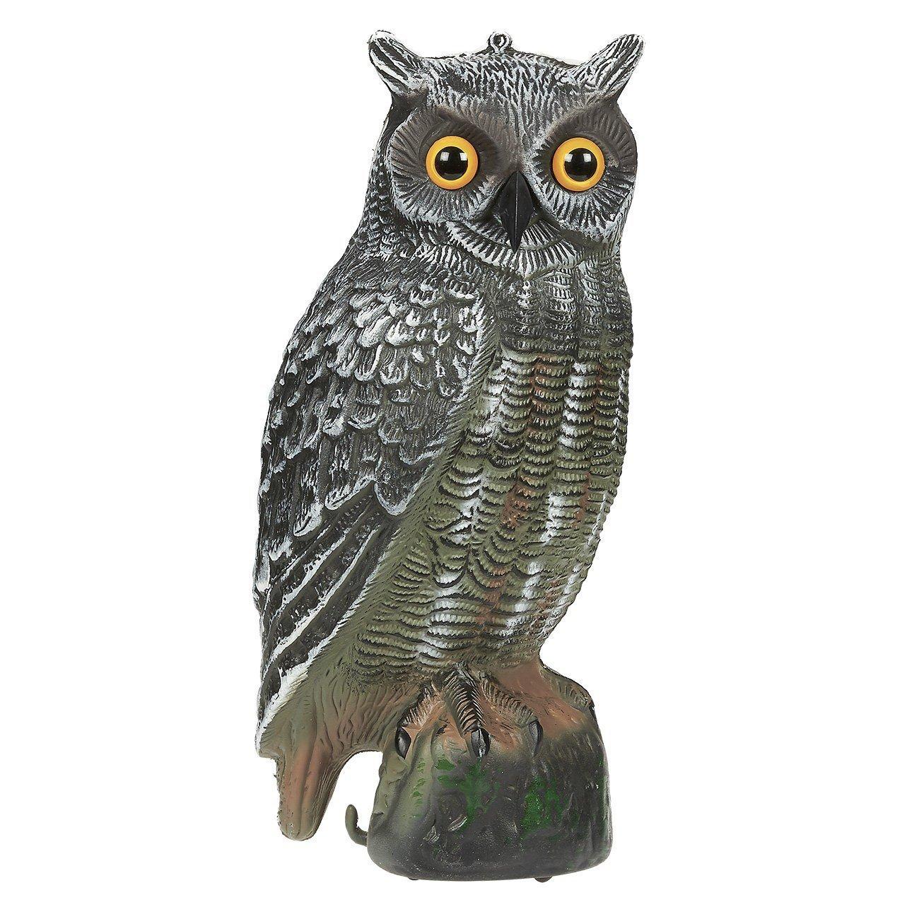 Set of 1 Pest Repellent Imitation Decoration Fake Owl Fig...
