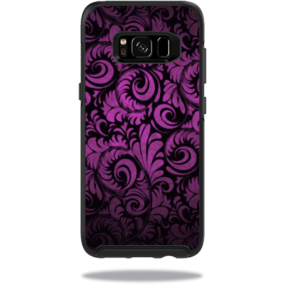 MightySkins Protective Vinyl Skin Decal for OtterBox SymmetrySamsung Galaxy S8 Case sticker wrap cover sticker skins Purple Style