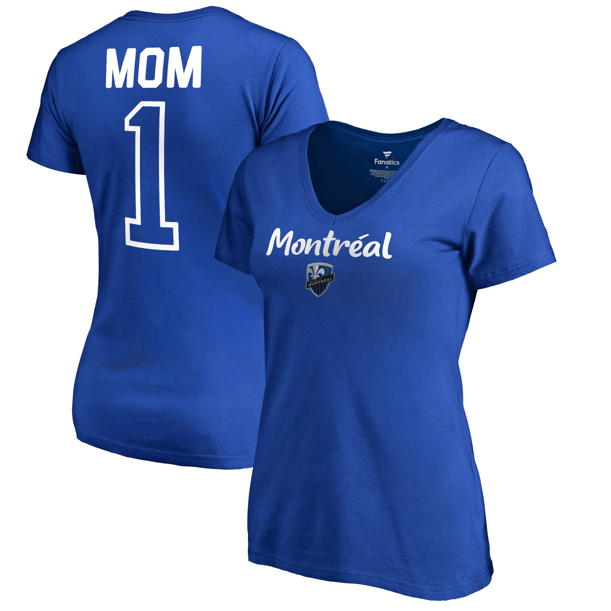 Montreal Impact Fanatics Branded Women's #1 Mom T-Shirt - Royal