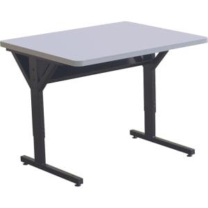 - BALT BRAWNY TABLE 30X36 GRAY ADJUSTABLE HEIGHT TAA COMPLIANT