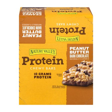 Nature Valley Peanut Butter Dark Chocolate Protein Chewy Bars, 22.7 oz