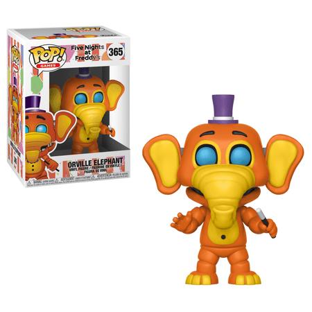 Five Elephants - Funko Pop! Games: Five Nights at Freddy's 6 Pizza Sim - Orville Elephant