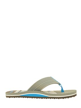 Boys' Wonder Nation Multi Stripe Shark Flip Flop