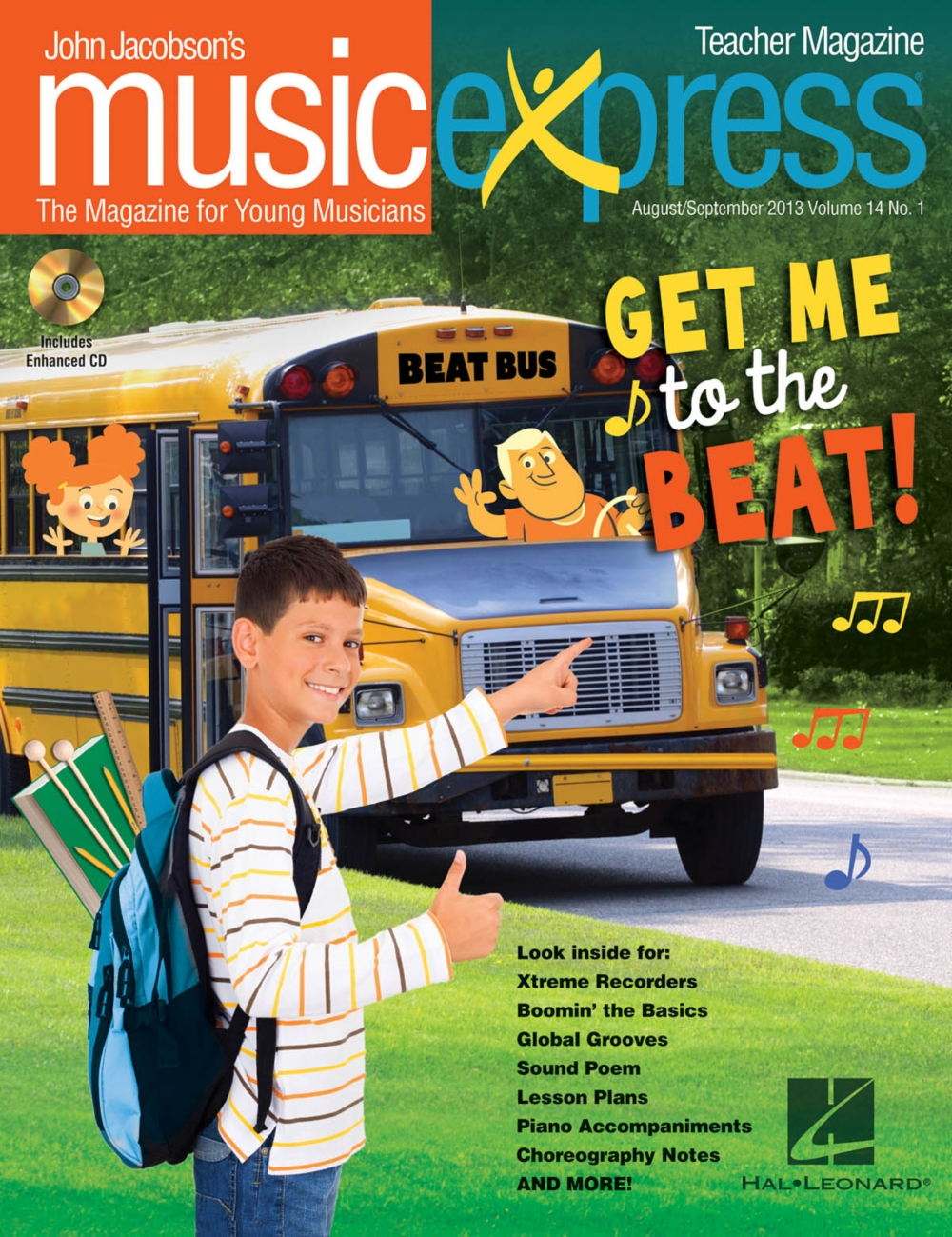 Hal Leonard Get Me to the Beat Vol. 14 No. 1 PREMIUM COMPLETE PAK by Phillip Phillips... by