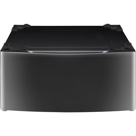LG 29 In. Laundry Pedestal with Drawer  White-Color:Black,Size:27u0022