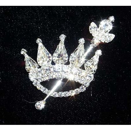 #12336 - Crown and Scepter Pin
