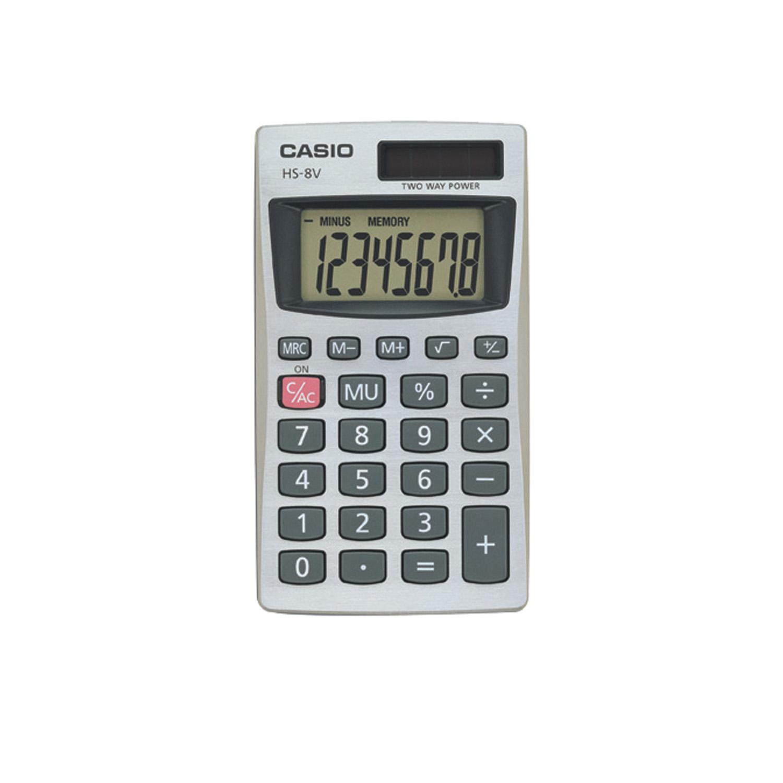 Casio HS-8VA 8 Digit Calculator