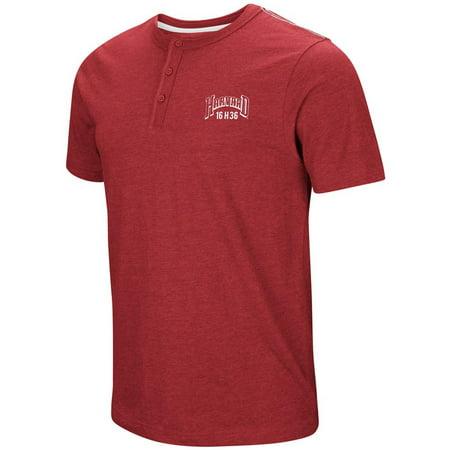 Harvard University Henley Shirt Men's Short Sleeve (Distance From New York To Harvard University)