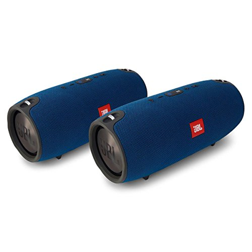 JBL Xtreme Portable Wireless Bluetooth Speakers Pair (Blue) by JBL