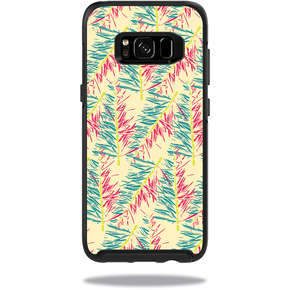 MightySkins Protective Vinyl Skin Decal for OtterBox SymmetrySamsung Galaxy S8 Case sticker wrap cover sticker skins Electric Palms
