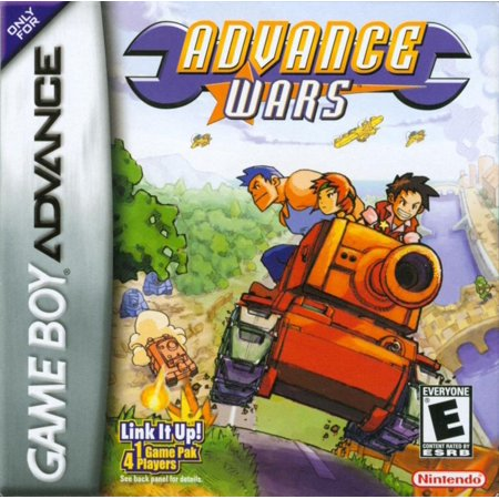 Advance Wars - Nintendo Gameboy Advance GBA Refurbished (Nintendo Game Boy Advance Box)