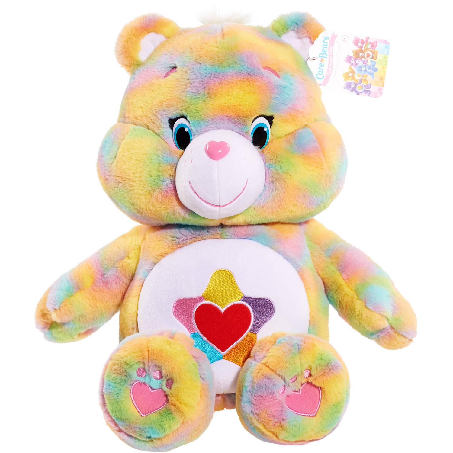 Care Bears Jumbo Plush, True Heart