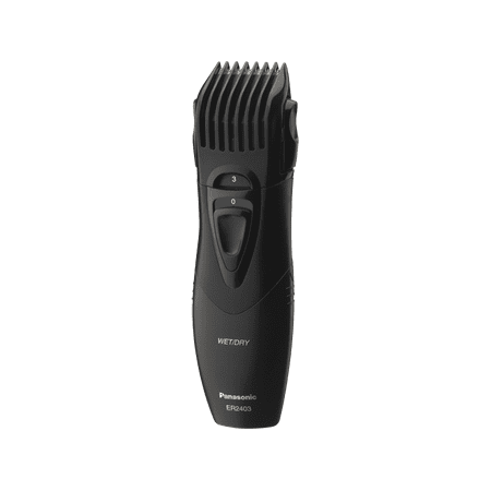 panasonic er2403k 5 setting men 39 s adjustable beard and mustache trimmer. Black Bedroom Furniture Sets. Home Design Ideas