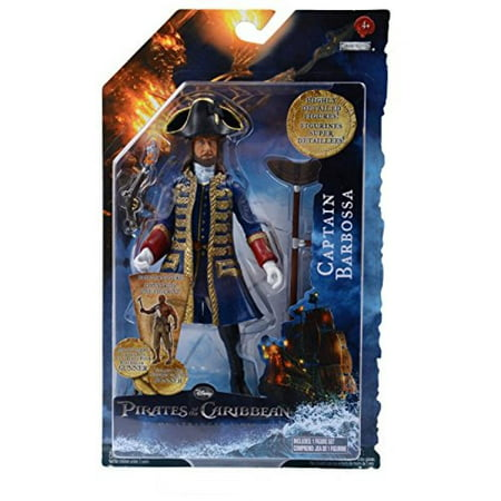 Pirates of the Caribbean On Stranger Tides 6 Inch Series 1 Action Figure Captain Barbossa](Hector Barbossa)