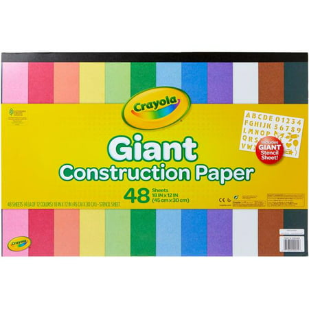 Crayola Construction Paper Packs