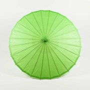 "Quasimoon 28"" Grass Green Paper Parasol Umbrella by PaperLanternStore"