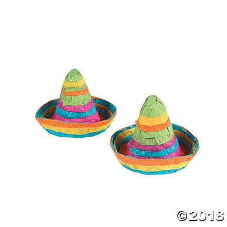 FX Mini Sombrero Centerpieces - Mini Sombreros
