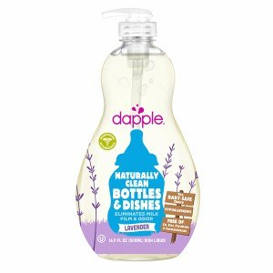 - Dapple Baby Bottle & Dish Liquid Soap, Lavender, 16.9 Ounce