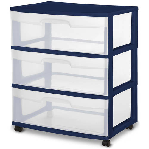 sterilite 3 drawer wide cart multiple colors. Resume Example. Resume CV Cover Letter