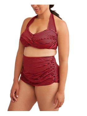 Simply Slim Women's Plus Size Two-Piece Sheath Set