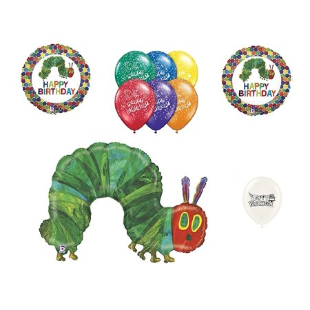 The Very Hungry Caterpillar 10 piece Balloon Bouquet for $<!---->