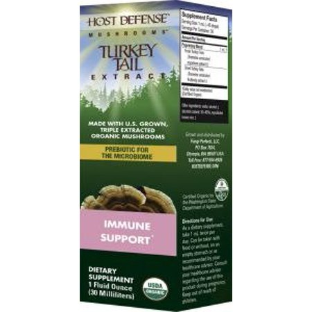 Defense Extract - Turkey Tail Extract Fungi Perfecti/Host Defense 1 fl oz Liquid
