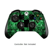 Skins Stickers for Xbox One Games Controller - Custom Orginal Xbox 1 Remote Controller Wired Wireless Protective Vinyl Decals Covers - Leather Texture Protector Accessories -Green Digicamo