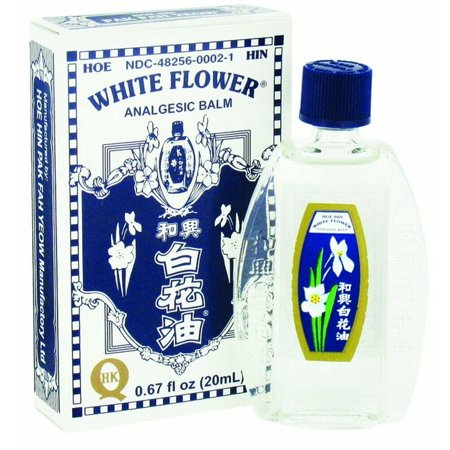 White Flower Analgesic Balm, 0.67 Oz - Walmart.com