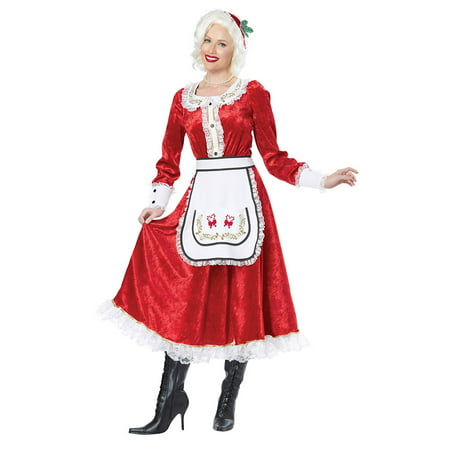 Womens Classic Mrs. Claus Halloween Costume](Burlesque Halloween Costumes For Women)