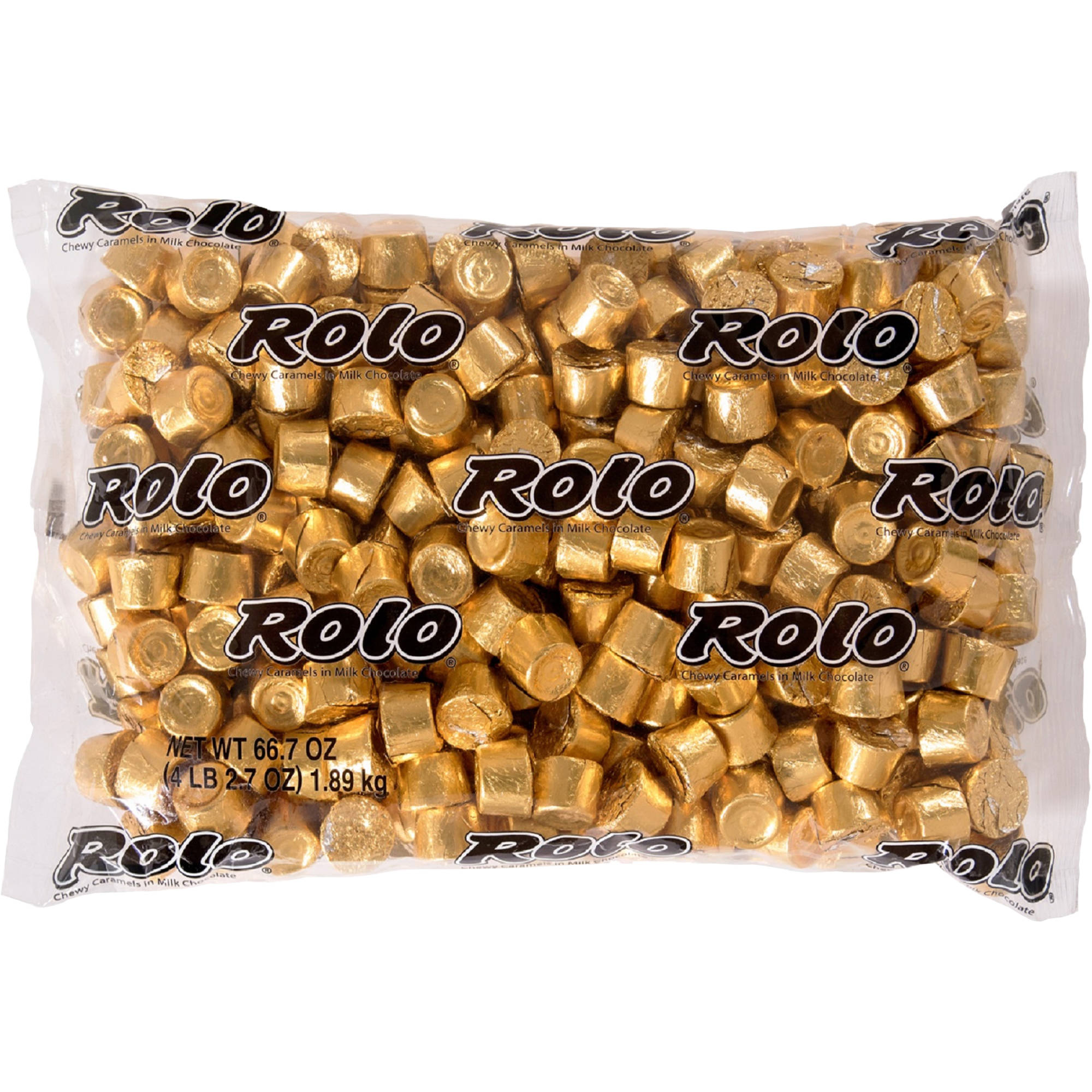 Rolo Chewy Caramels in Milk Chocolate Candy, 4.1 lb - Online Only
