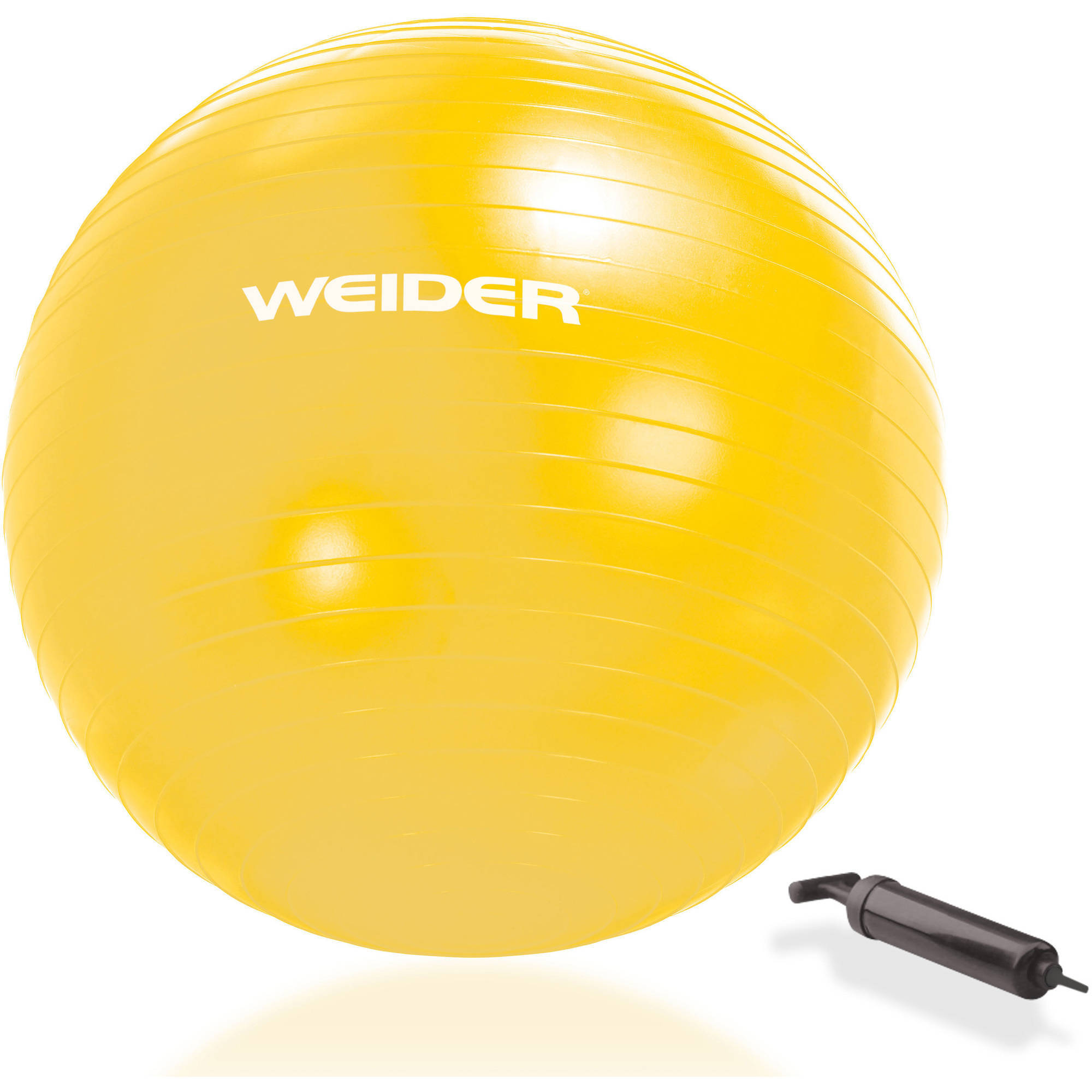 Weider Stability Exercise Ball, 55-75 cm