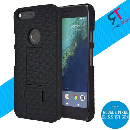 Rome Tech Shell Holster Combo Case with Belt Clip Google Pixel XL 5.5 1st